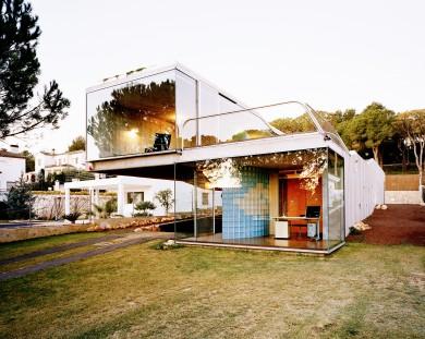 Gunnar Knechtel, photos of Villa Bio in Figueras, Spain, built b