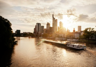 Gunnar Knechtel Photography, Germany, Frankfurt. Main river and