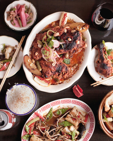 A table at Fat Rice in Chicago, Illinois. Photo by Kevin J. Miyazaki/Redux