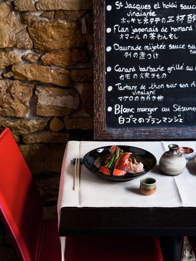 Restaurant Tomo -- Homard bleu