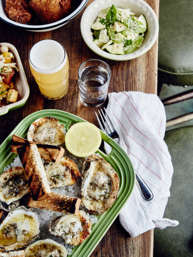 Leon's Oyster Shop -- Chargrilled Oysters