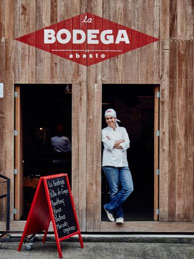 Chef Owner Luz Velez of Abasto and la Bodega Abasto