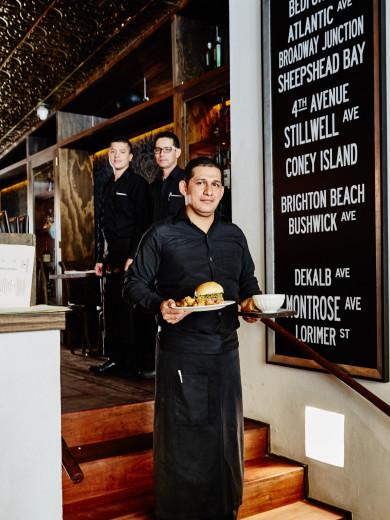 Interior of Chef Daniel Castano's Restaurant Gordo