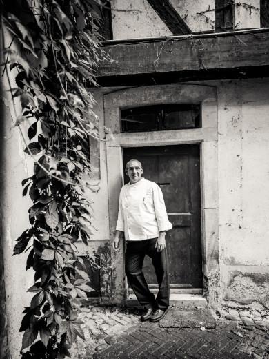 Chef Frabrice Jardin at Porcus, Strasbourg, France