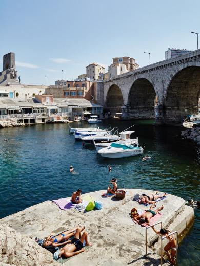 Port of Vallon des Auffes, Marseille, France