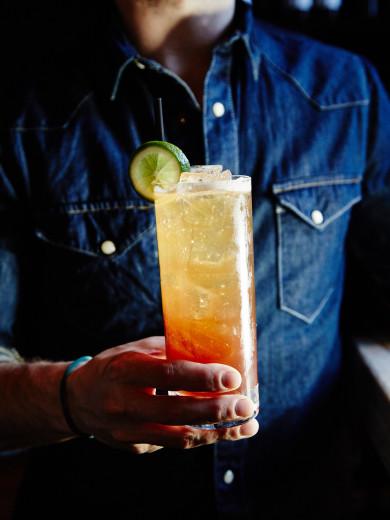 Tavern Road Restaurant -- Tartini Sling Cocktail