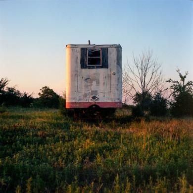 Abandoned oil field, Pottawatomie County, Oklahoma