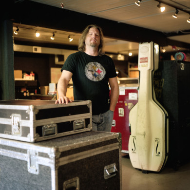 George. Pearl Jam Equipment Manager. Seattle, WA.