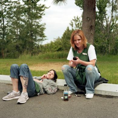 (L-R) Nadine and Kim. Maids. Missoula, MT.