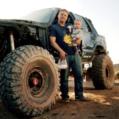 Shilo and son. Moab, UT.