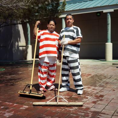 (L-R) Tommy and Joe. Inmates. Marfa, TX.