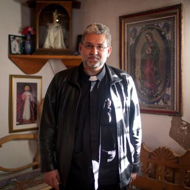 Julio. Priest. Chimayo, NM