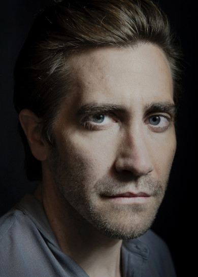 Jake Gyllenhaal photographed for TIME at Hudson Theater, Times Square, NYC.