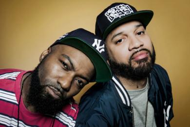Comedic duo Desus & Mero at VICE studios, Brooklyn.