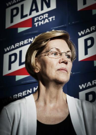 Elizabeth Warren for GQ
