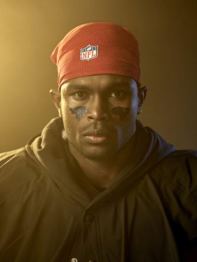 X161536 TK1 NFL Football:  Portrait of Atlanta Falcons Julio Jones