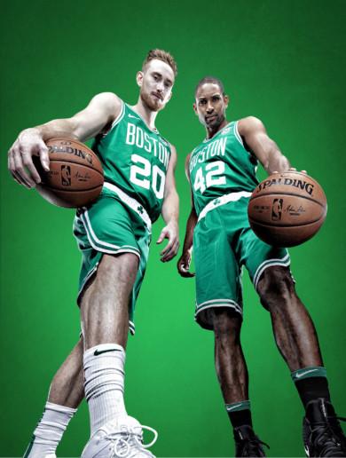 Boston Celtics Gordon Hayward and Al Horford, 2018-19 NBA Basketball Preview