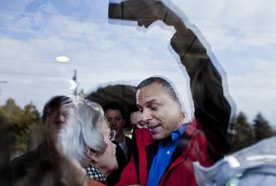 Jon Huntsman campaigns in New Hampshire