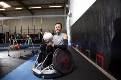 Will Groulx training at Adapt Gym in Beaverton Oregon