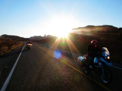 Motorcycle touring in Utah