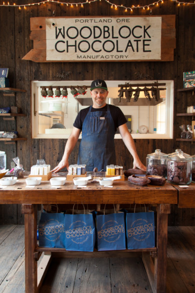 Woodblock Chocolate is a bean to bar chocolate maker in Portland Oregon