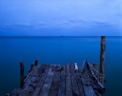 Fisherman's Dock at Dusk - Ko Samet Island, Thailand