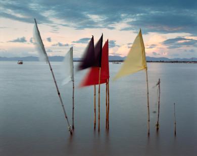 Hindu Prayer Flags - Waterloo, Trinidad