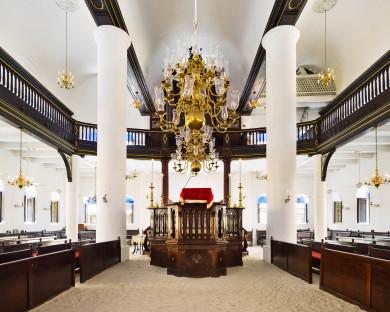 Mikvé Israel-Emanuel Synagogue, Curaçao 1732