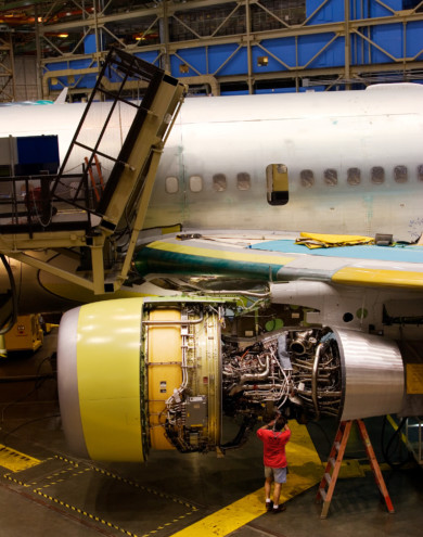 Boeing, Everett Washington