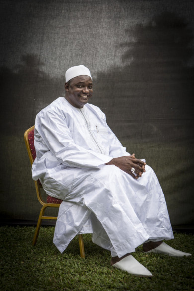 President-Elect Adama Barrow of The Gambia