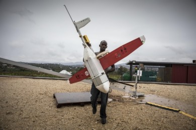 Zipline has partnered with the Rwandan government  to provide delivery of blood and medical supplies by drone.