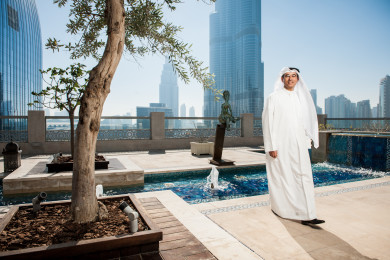 Mohamed Alabbar, Chairman, Emaar Properties.