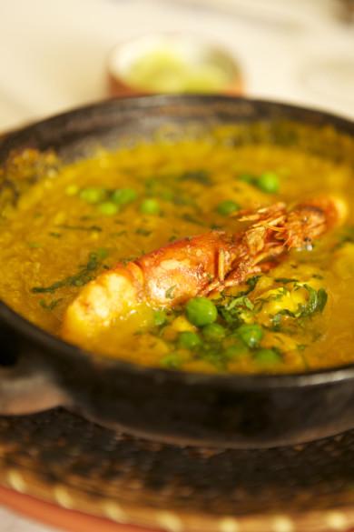 El Kapallaq restaurantLima, PerúShrimp Locro
