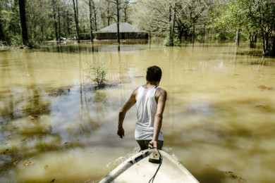 Flooding in Louisiana