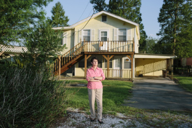 Dr. Wilma Subra - Environmental Justice Scientist at Bayou Corne, Louisiana