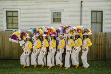 Ice Divas Second Line Parade 2016
