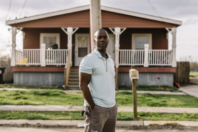 Burnell Cotlon and the Lower 9 Market in New Orleans