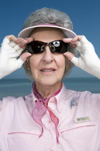Joan Wulff, Master Fly Fisherwoman, 81