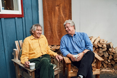 Linwood Barclay & John Boxtel