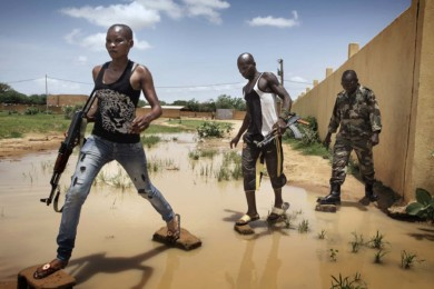 Militia zealous to oust islamist in Mali