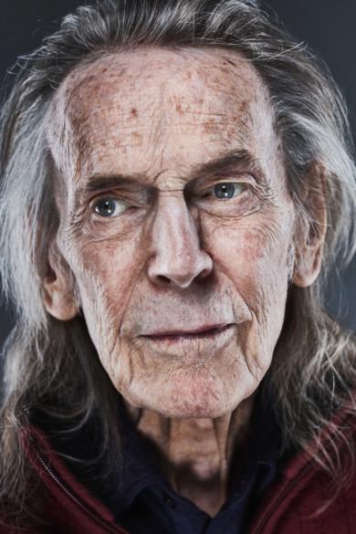 Portrait of Canadian singer-songwriter Gordon Lightfoot
