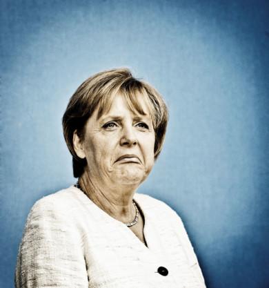 Angela Merkel auf Norderney