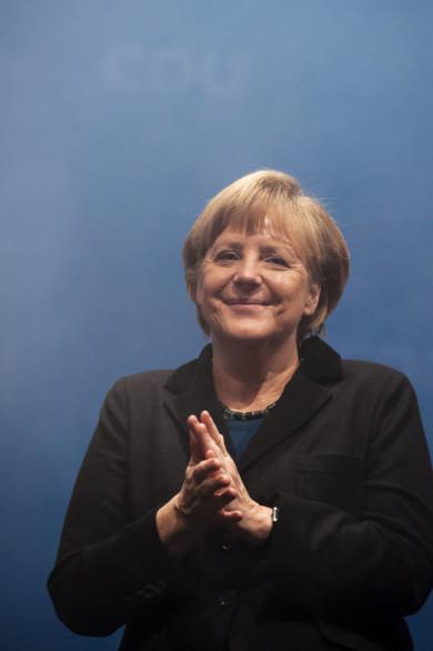 CDU Kundgebung zur Landtagswahl 2013 in Niedersachsen in der Halle 39