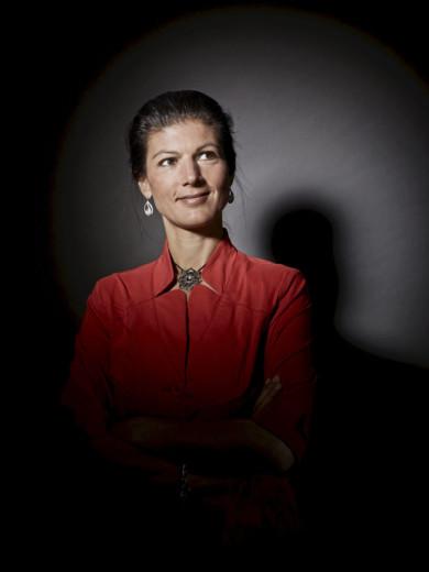 Sahra Wagenknecht - Gleiches Licht fuer Alle, Portrait Projekt