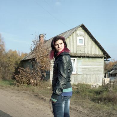 Teenager, Daugapils, Latvia,