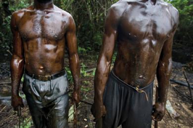 Scenes in Oloibiri Town, Niger Delta