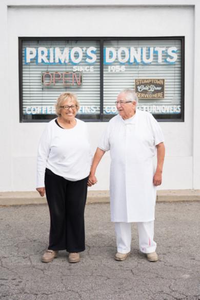 Donut baker portrait