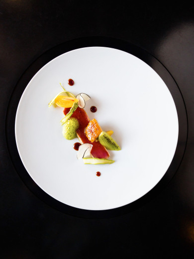 Restaurant DOMO -- Tuna with Foie Gras