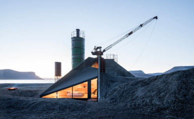 Concrete Factory Turned Into A Vacation Cabin: Westfjords, Iceland - PKdM Architects