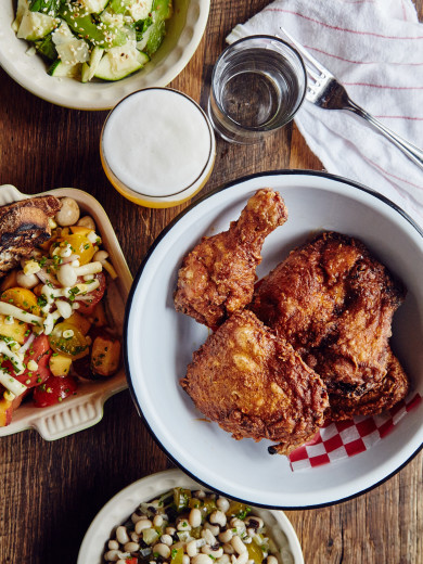 Leon's Oyster Shop -- Fried Chicken